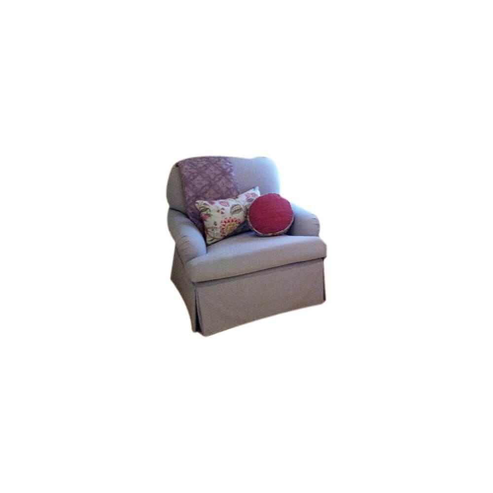 Lawson Chair w/skirt